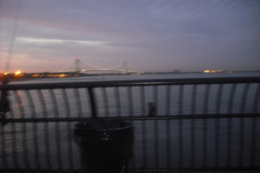 Mostly thought of as NYC's garbage dump, Staten Island has many places of beauty, like the pier
