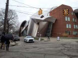The Weatherhead School of Management, designed by architect Frank Gehry