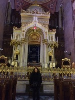 Carole In Dohany Synagogue